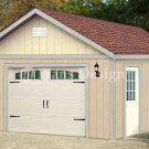 16' X 20' Garage Blueprints Project Plans, Design #51620