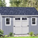 Deluxe Lean To Shed Plans For 6 ft x 14 ft Building  , Design #D06014L