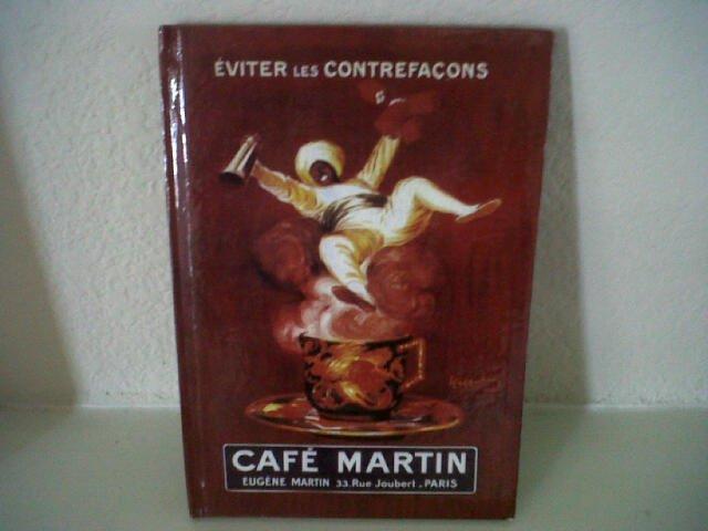 Cafe Martin Journal Book