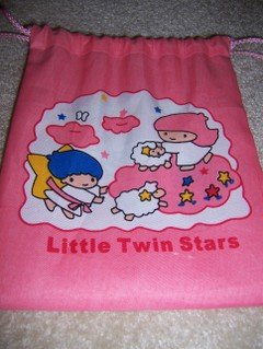 Little Twin Stars Draw String Bag