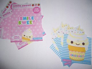 Sweet Smile Ice Cream mini memos