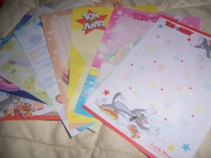 Kamio Tom & Jerry Memos