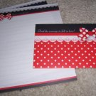 Red Dots Letterset