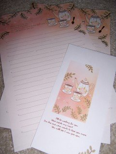 Tea Time Letterset