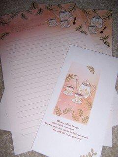 Tea Time Letterset