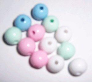 Round Pastel BEads