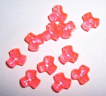Orangeish Beads