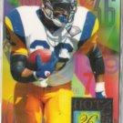 JEROME BETTIS 1994 Fleer Flair Hot # Insert #2 of 15 - RAMS