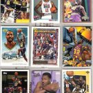 KARL MALONE (9) Cards w/ 1992 Topps GOLD, 93 Career HL+