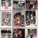 DAVID ROBINSON (9) Lot w/ 1990 Hoops RC, 93 Hoops GOLD+