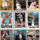 ALONZO MOURNING (9) Cards w/ Rookie Cards