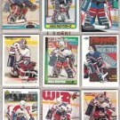 MIKE RICHTER (9) Card Lot w/ 1990 + 91 OPC, 91 SC++