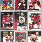 SCOTT STEVENS (9) Card Lot w/ 1990 OPC, 95 Donruss++