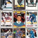OWEN NOLAN (9) Lot w/ 1990 Pro Set Draft, 02 Bowman YG+