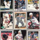 MARK MESSIER (9) Card Lot w/ 1984 Topps, 90 UD, 91 OPC+