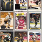 ADAM OATES (9) Lot w/ 1988 + 90 Topps, 94 Ultra HL Ins