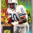 BARRY SANDERS 1994 Flair Hot Numbers Insert #11 of 15.
