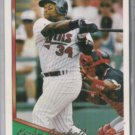 KIRBY PUCKETT 1994 Topps Gold Ins. #100. - TWINS