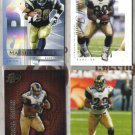 (4)  MARSHALL FAULK Premium Cards w/ 2000 UD SP Authentic+++