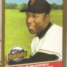 WILLIE McCOVEY 1986 Donruss Highlights #34. - Sharp