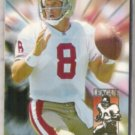 STEVE YOUNG 1994 Fleer League Leader Insert #10 of 10.  49ers
