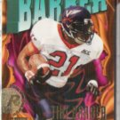TIKI BARBER 1997 Impact Rookie #210.  GIANTS