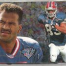 ANDRE REED 1995 Flair Preview Insert #3 of 30.  BILLS