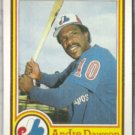 ANDRE DAWSON 1984 Topps Nestle's #16.  EXPOS