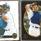 (2) MIKE PIAZZA Pinnacle Summit 1995 + 1996 - DODGERS