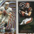 (2) JON KITNA 1998 Pacific + 2002 Playoff Absolute