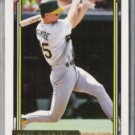 MARK McGWIRE 1992 Topps GOLD Insert #450.  A's
