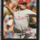CURT SCHILLING 1992 Leaf Black Gold Insert #516.  PHILLIES