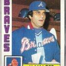 JOE TORRE 1984 Topps #502.  BRAVES