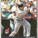 MANNY RAMIREZ 2001 Topps Post Cereal Insert #7 of 18.  INDIANS
