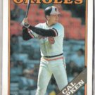 CAL RIPKEN 1988 Topps #650.  ORIOLES