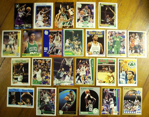 ROBERT PARRISH (24) Cards w/ 1981 Topps + Early 90's
