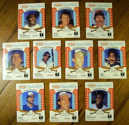 (20) True Value Set Loaded with Stars HOF - Sharp 1986