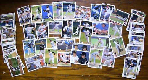 (140+) MLB 1994 UD CC Silver Sig. Lot w/ Stars + minor
