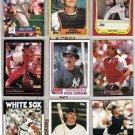 MLB Famous CATCHERS (9) Card Lot - 1982 - 05 w/ Fisk