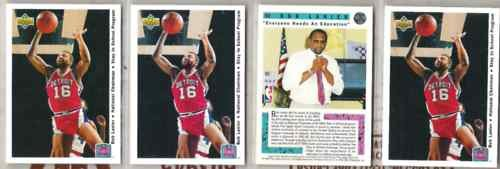 BOB LANIER (4) Card 1992 Upper Deck Stay In School Lot