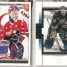 OLAF KOLZIG (2) Card Lot - 1993 Premier GOLD, 99 UD SP