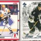 MARIO LEMIEUX (2) Lot w/ 1990 Score + 01 Private Stock