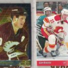 GARY ROBERTS (2) Card Lot: 1993 SC Finest Ins. + UD SP