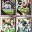 (4) Wild Card Stripes Lot - 1991 + 1992 w/ 5, 10s + 20