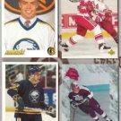 JASON DAWE (4) Hockey Card Lot w/ RC's - BUFFALO