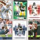 NFL Mega Star (6) Card Premium QB Lot w/ P. MANNING++