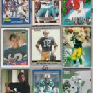 NFL Mega Star (9) Card QB Lot w/ KELLY, MARINO, MONTANA