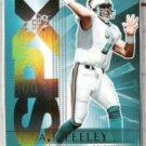 AJ FEELEY 2004 Upper Deck SPX #50 - #'d Insert 12 / 25
