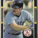 WADE BOGGS 1987 Donruss #252.  Red Sox