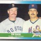 WADE BOGGS 1987 Fleer #637 w/ K. Hernandez.  Red Sox